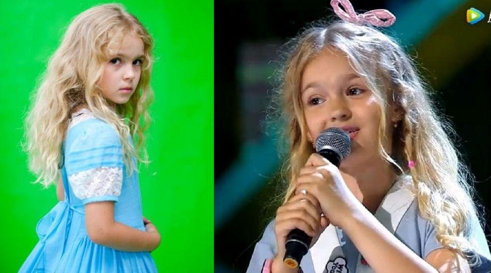 """O fetiță de 9 ani din România i-a uimit pe chinezi cu vocea ei. """"Ne-au chemat să cântăm de Revelion"""""""