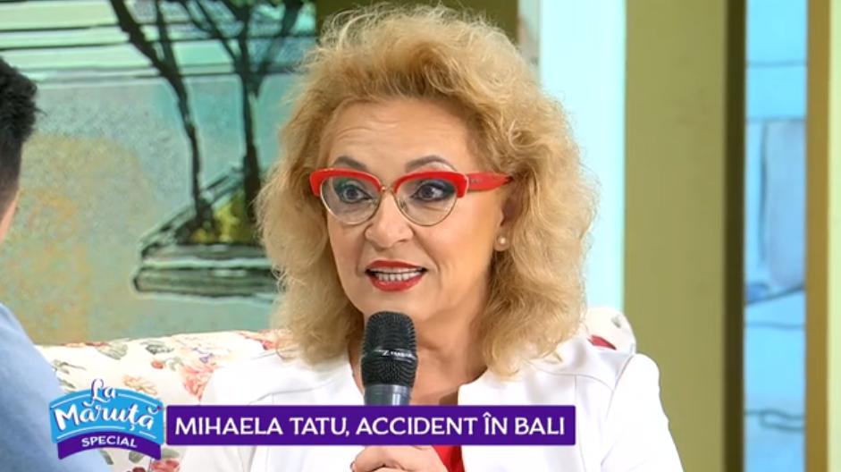 VIDEO Mihaela Tatu este de 10 ori femeie. Ce accident a suferit prezentatoarea în vacanță