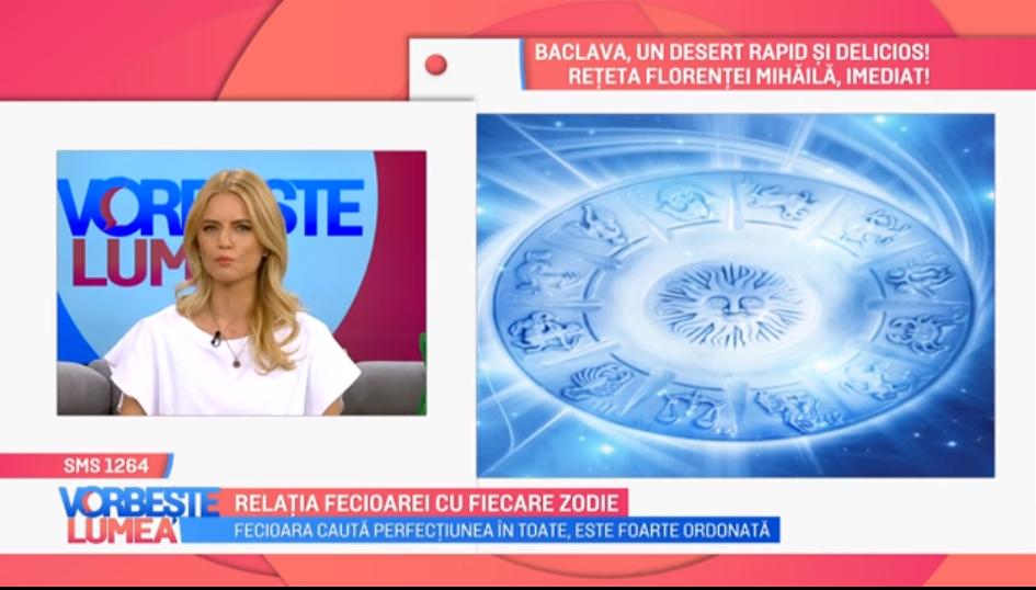 """VIDEO Nicoleta Svarlefus ne povestește despre relația zodiei """"fecioară"""" cu celelalte zodii"""
