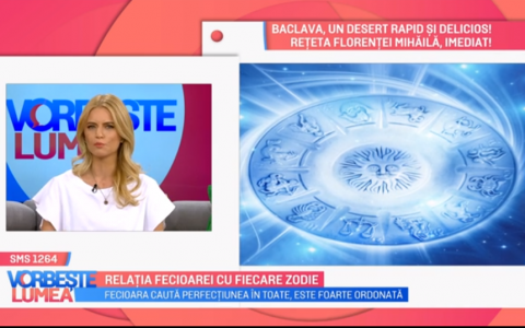 VIDEO Nicoleta Svarlefus ne povestește despre relația zodiei  fecioară  cu celelalte zodii