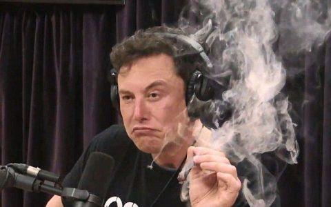 Elon Musk, gest controversat! A fumat, în direct, un trabuc cu marijuana