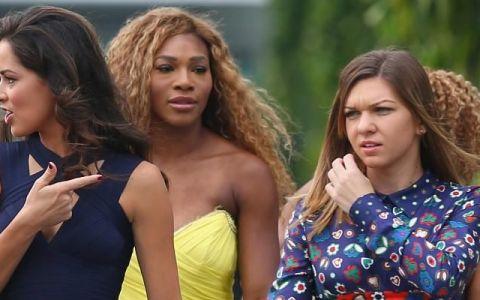 Simona Halep, prinsă fără voia ei în scandalul provocat de Serena Williams