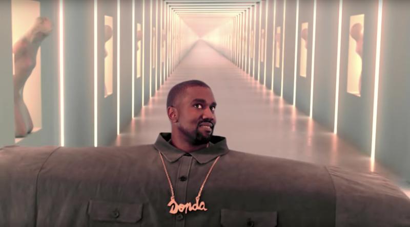 Kanye West are un nou videoclip ciudat și internetul a reacționat pe măsură