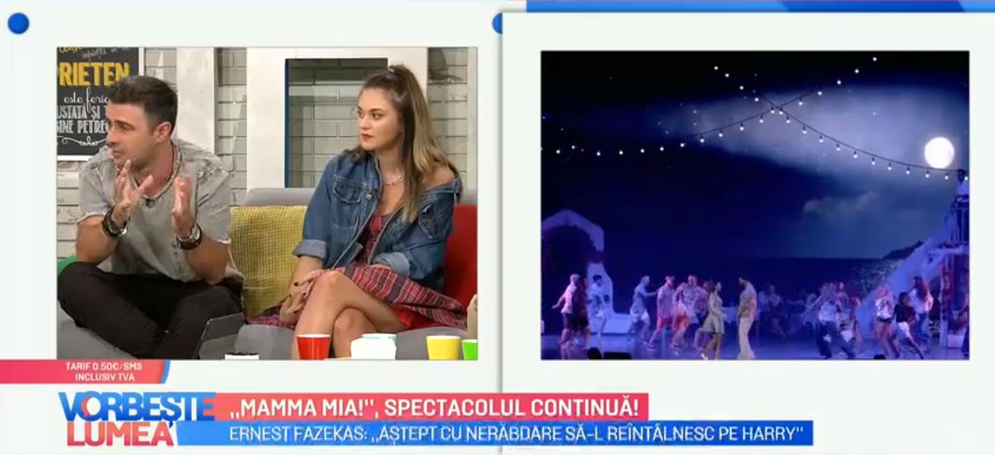 VIDEO Spectacolul  Mamma Mia  continuă luna aceasta și în noiembrie