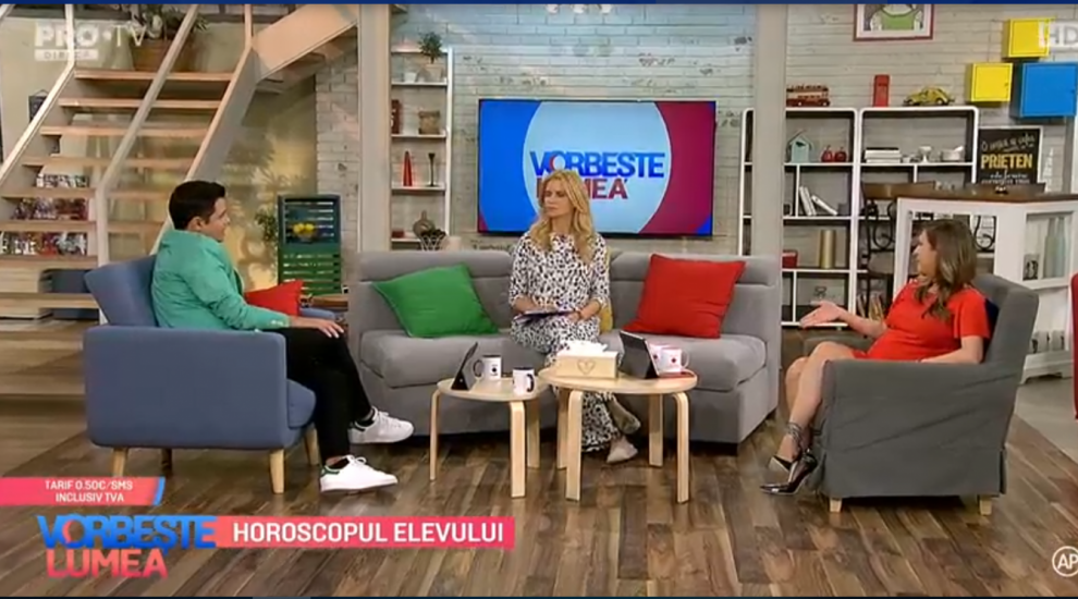 VIDEO Nicoleta Svârlefus ne-a vorbit despre horoscopul elevului