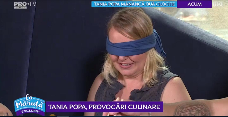 VIDEO Tania Popa pusă în fața unei provocări culinare inedite
