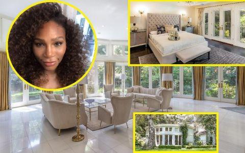 Serena Williams se chinuie să-și vândă vila din Los Angeles. Cât a scăzut din preț
