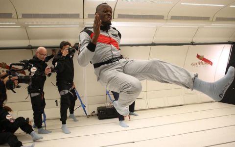 VIDEO Nici extratereștrii nu l-ar prinde. Usain Bolt a devenit cel mai rapid om de pe Pământ și din spațiu