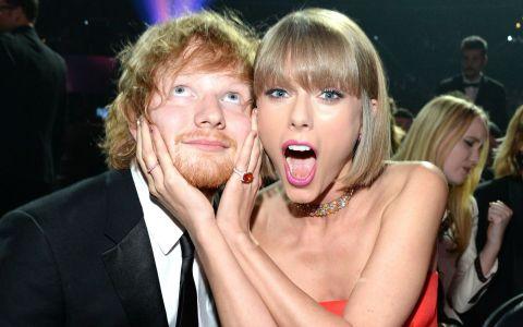 Taylor Swift îl ironizează pe Ed Sheeran, într-un clip amuzant. Reacția artistului e de milioane