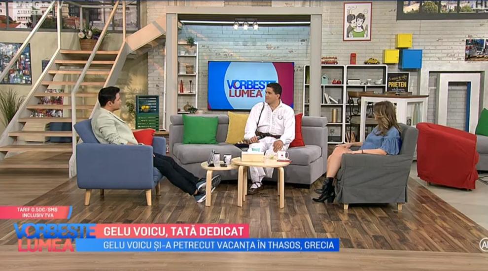 """VIDEO Gelu Voicu, tată dedicat. Anunțul mare făcut de artist cu referire la sarcina soției sale. """"Sunteți primii care află"""""""