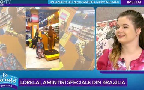 Câștigătoarea Românii au talent, Lorelai, a ajuns cunoscută în America Latină