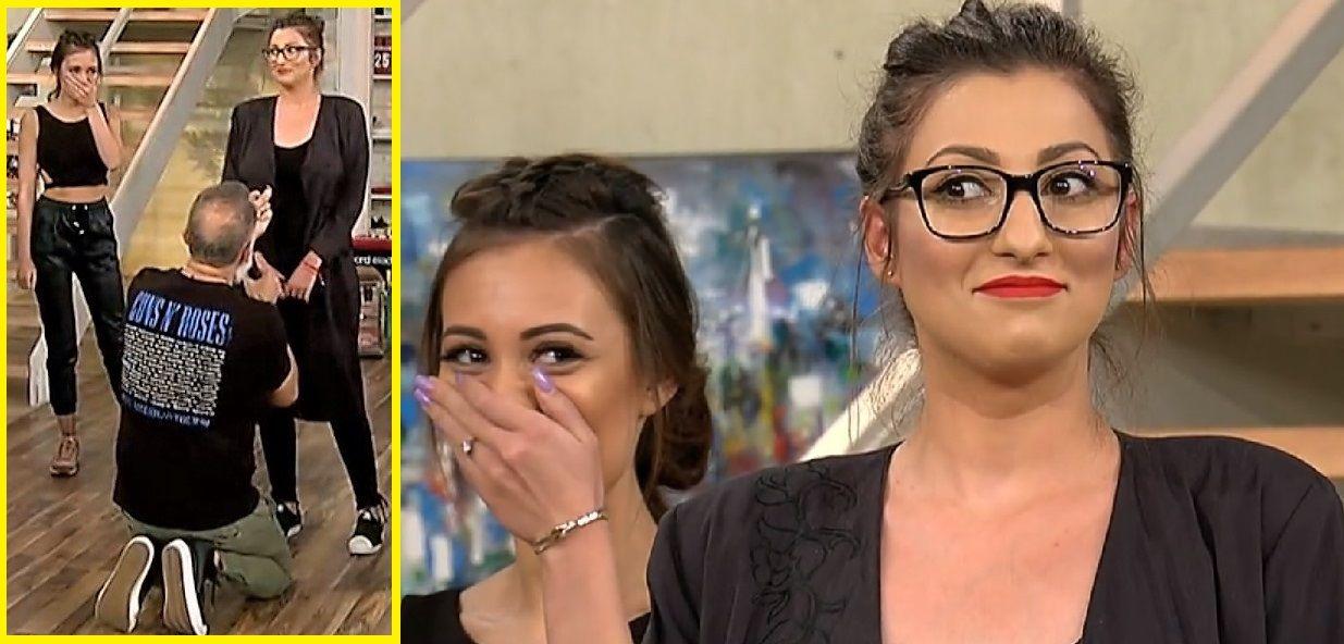 Damian Drăghici și-a cerut iubita în căsătorie, la TV: bdquo;Pe bune? Puteai să nu faci asta la televizor?