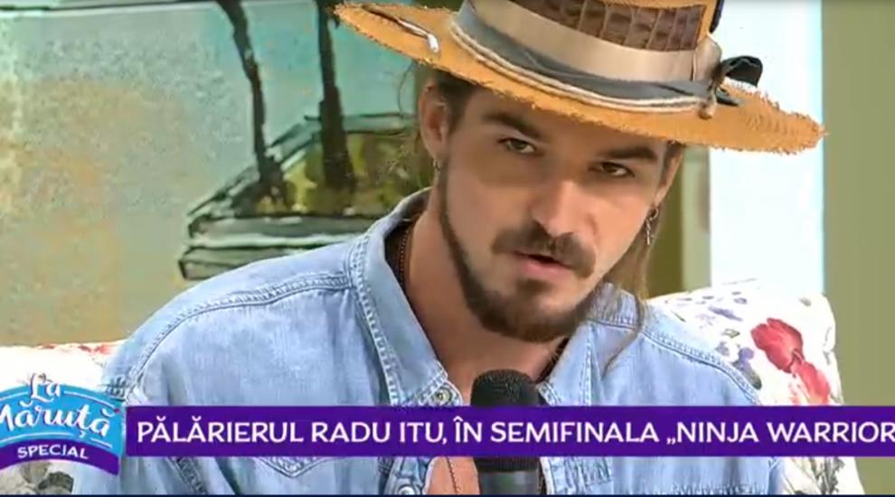 """VIDEO Semifinalistul """"Ninja Warrior"""" Radu Itu vorbește despre pasiunea sa pentru confecționarea pălăriilor"""