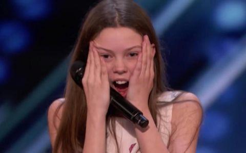 America s Got Talent. O elevă de 14 ani, favorită pentru premiul cel mare, de 1 milion de dolari