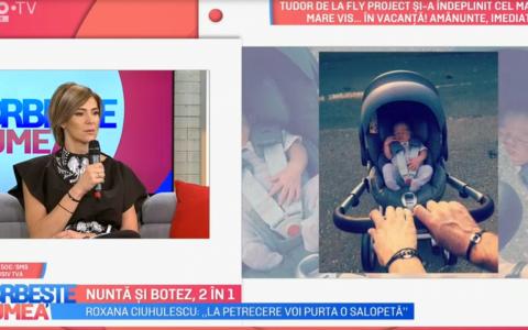 VIDEO Roxana Ciuhulescu, ultimele pregătiri pentru nunta și botez:  Nu pot să dorm noaptea, am emoții