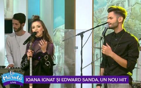 VIDEO Edward Sanda și Ioana Ignat au dat lovitura. Piesa care a strans deja peste 4 milioane de vizualizari, live la Maruta
