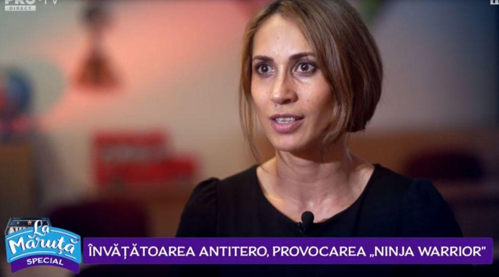 VIDEO Cum a decurs provocarea Ninja Warrior pentru Iulia Marcu, învățătoarea care a lucrat în trecut în brigada antitero
