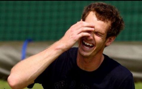 Gafa amuzantă a lui Andy Murray. Jucătorul de tenis a dat cu premiul chinezilor de pământ