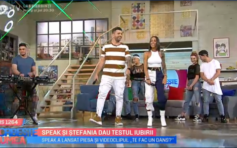 VIDEO Speak si Stefania au lansat piesa  Te fac un dans