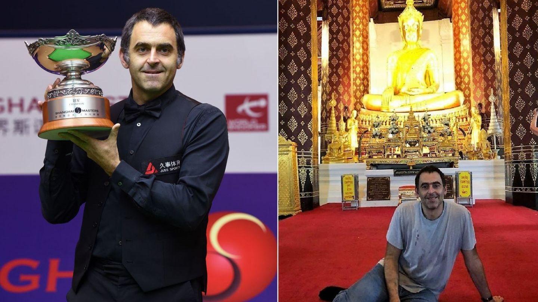 Ronnie O rsquo;Sullivan va trăi trei luni printre călugării budiști pentru a-și trata accesele de furie