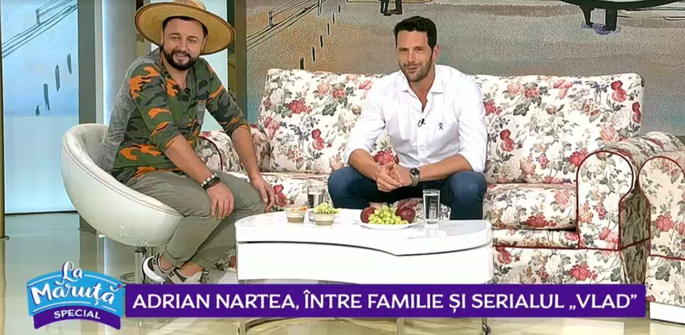 VIDEO Adrian Nartea, protagonistul serialului Vlad, a vorbit în premieră despre noul rol
