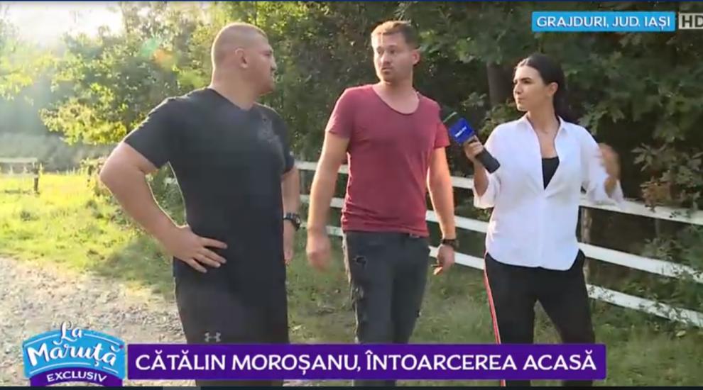 VIDEO: Cătălin Morosanu, povestiri din locurile în care a copilărit