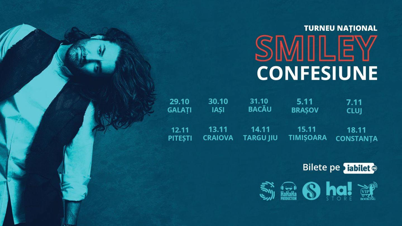 Smiley dă start la karaoke: își invită cei mai talentați fani să cânte cu el în concert