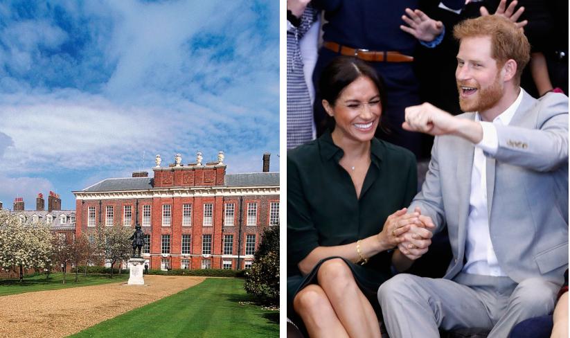 Meghan şi Harry se mută în sfârşit la Palat! S-au finalizat lucrările la apartamentul lor de la Kensington!
