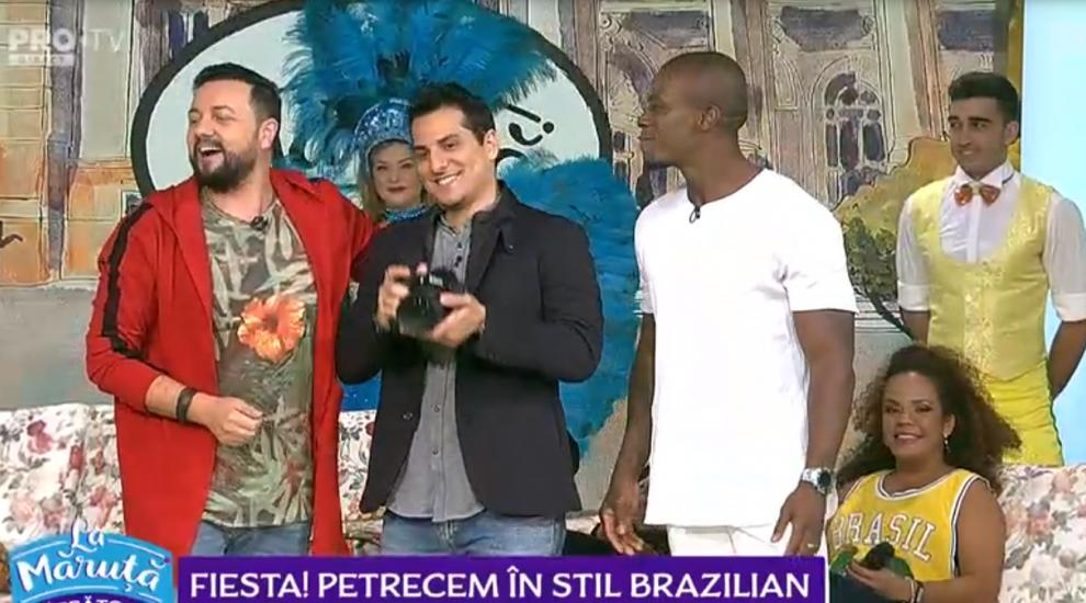 VIDEO Petrecere în stil brazilian la Măruță. Anunțul făcut de dansatorul Banto dos Santos