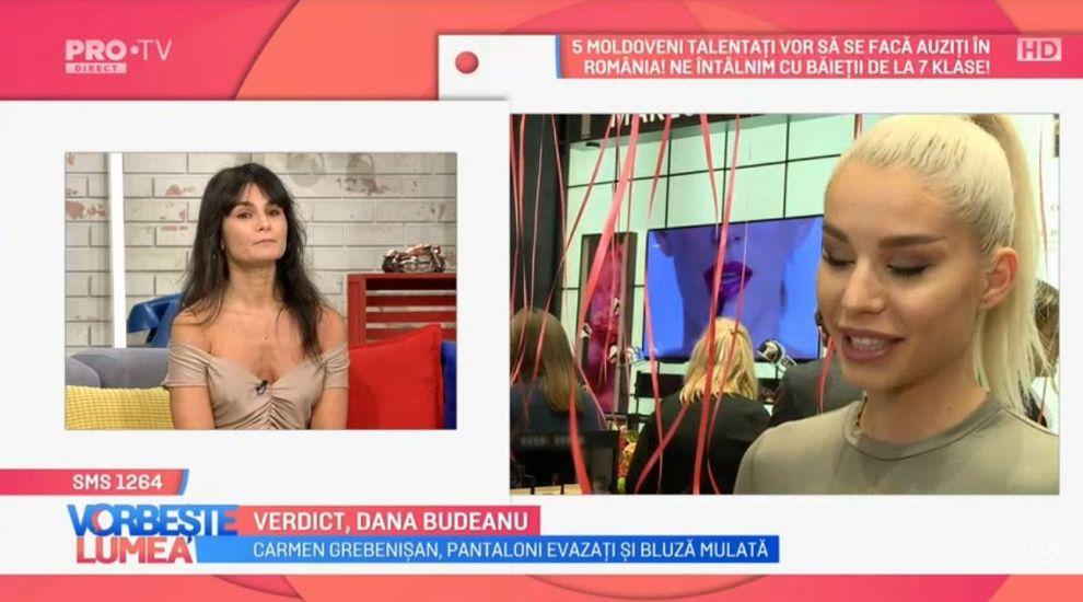 VIDEO Verdict Dana Budeanu. Cum a comentat ținutele vedetelor