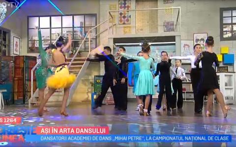 VIDEO Ași în arta dansului. Spectacol fabulos oferit de dansatorii Academiei de dans  Mihai Petre