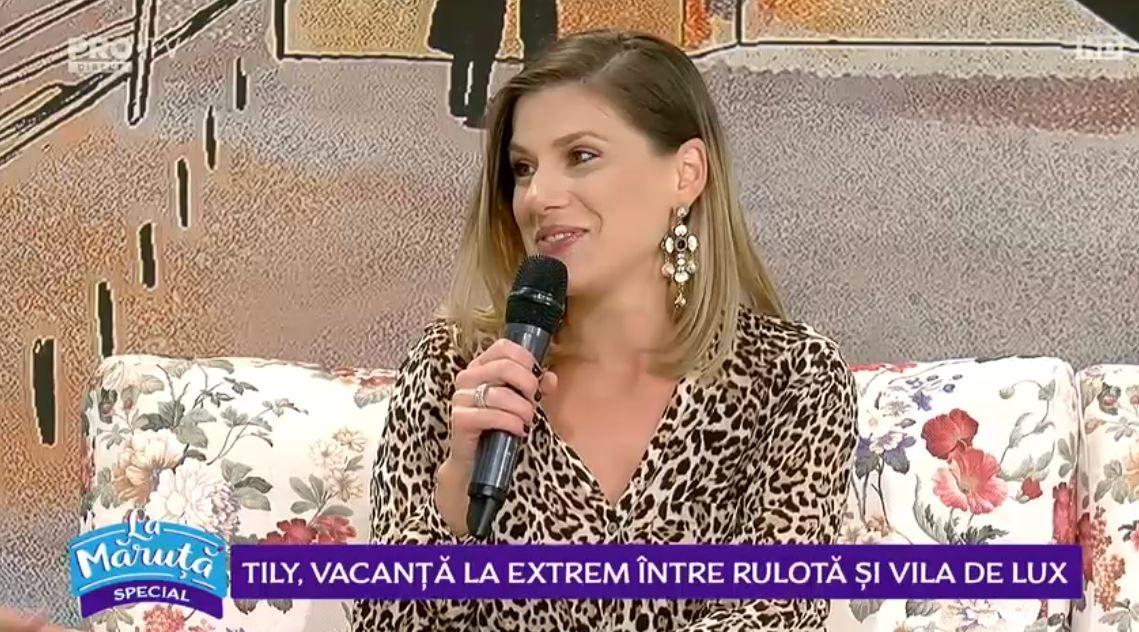 VIDEO Tily Niculae, vacanță la extrem între rulotă și vilă de lux