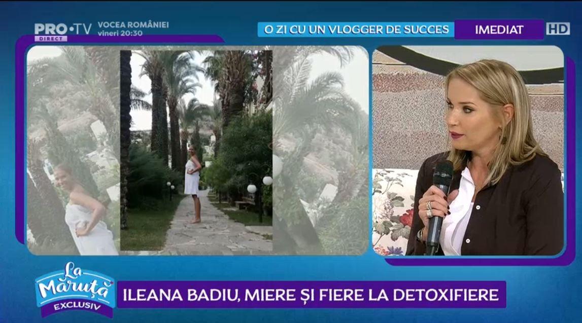 VIDEO Ce secrete de frumusețe are Ileana Badiu