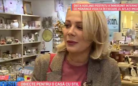 VIDEO Obiecte pentru o casă cu stil. Ce își dorește Dana Săvuică?