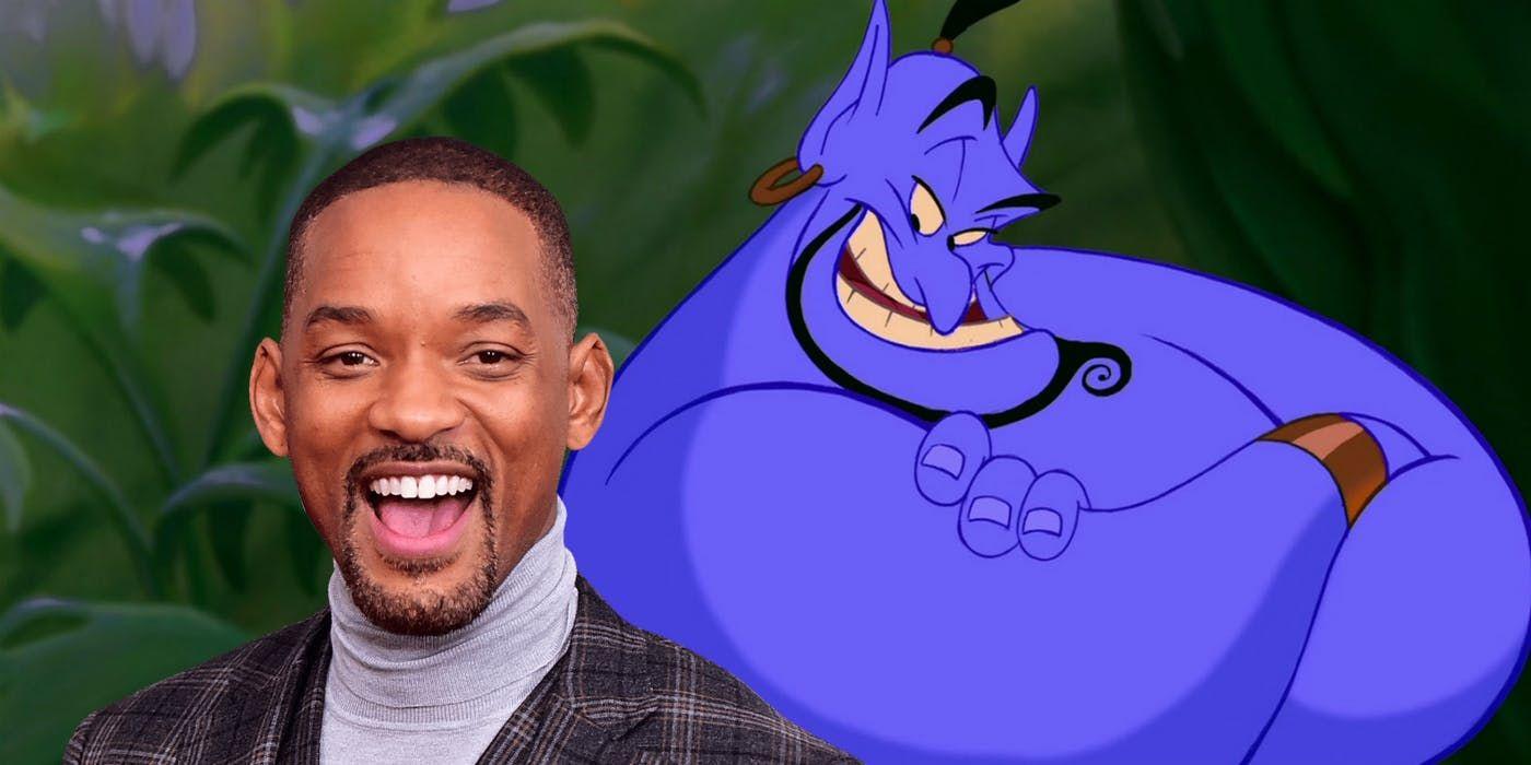 Will Smith este Genie în producția Disney  Alladin :  Abia aștept să mă vedeți albastru!