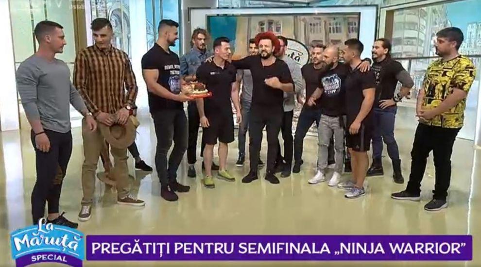 VIDEO: Maraton de flotări La Măruță în emisiune. Sunt pregătiți concurenții pentru semifinala Ninja Warrior?