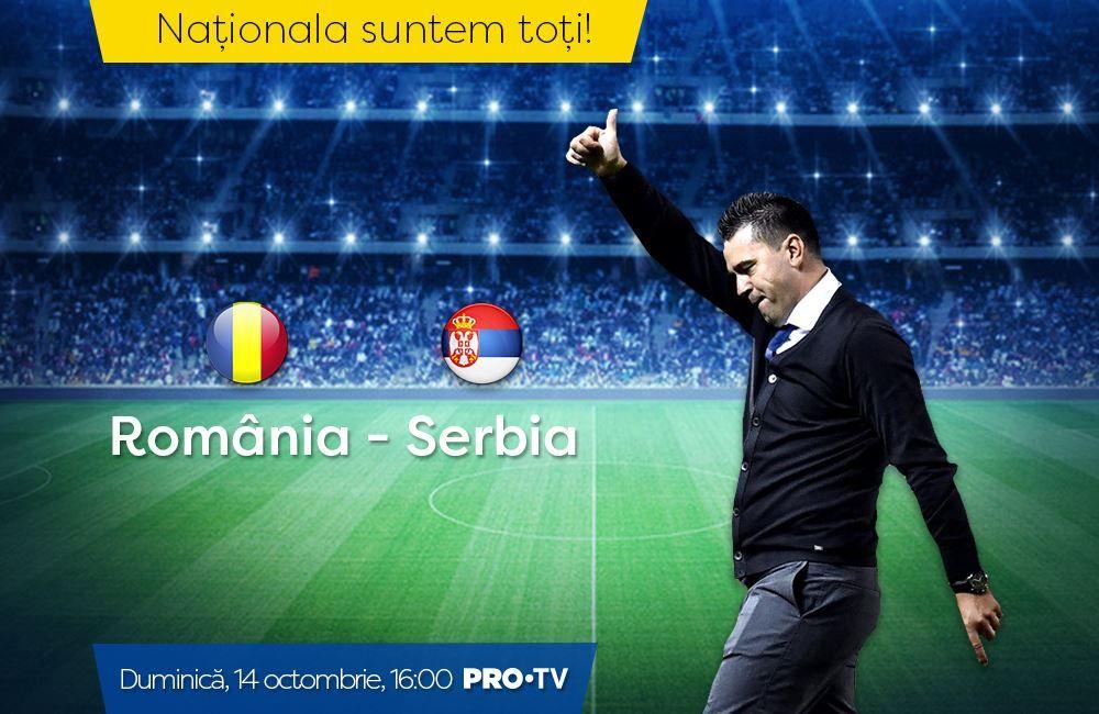 Jucătorii României se pregătesc deja pentru meciul de duminică, împotriva Serbiei! De la 16:00, la PRO TV