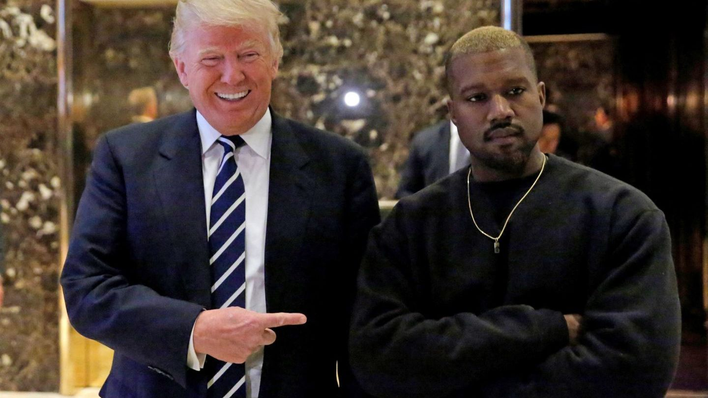 Trump l-ar putea susține pe Kanye la alegerile din 2020