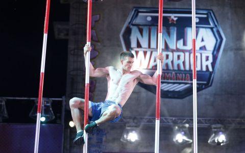 Prima semifinală Ninja Warrior România a fost lider de audiență pe toate segmentele de public!