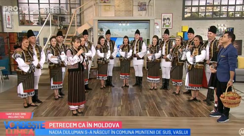 """VIDEO Petrecem în Moldova alături de ansamblul """"Ciprian Porumbescu Suceava"""""""
