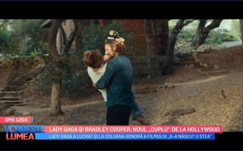 VIDEO Lady Gaga și Bradley Cooper, noul  cuplu  de la Hollywood