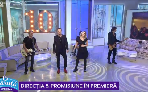 VIDEO Direcția 5, promisiune în premieră bdquo;La Măruță