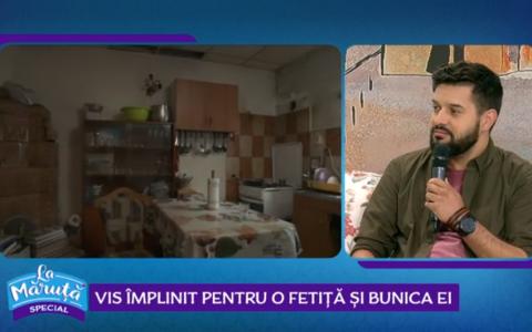 VIDEO Ciprian Vlaicu, de la bdquo;Visuri la cheie , vis împlinit pentru o fetiță și bunica ei