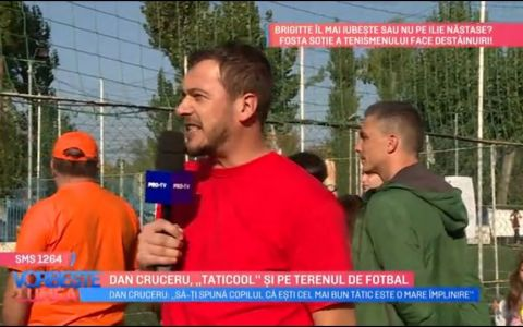 VIDEO Dan Cruceru,  taticool  și pe terenul de fotbal