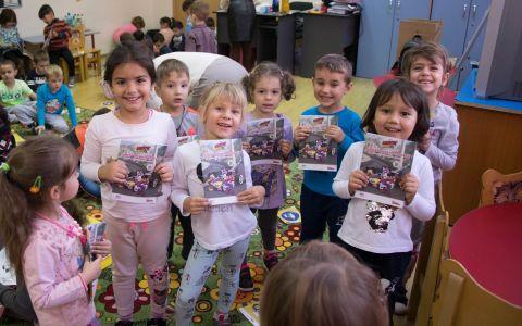 Primul program de educație rutieră pentru preșcolari ajunge în grădinițe