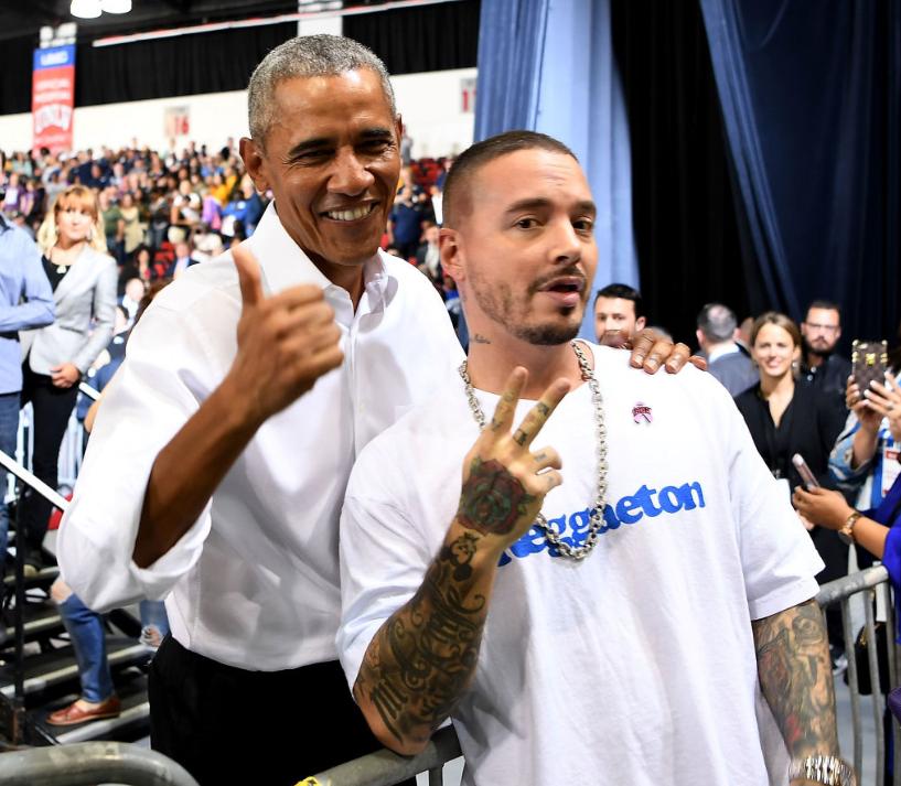 Barack Obama se declară fan reggaeton şi J. Balvin