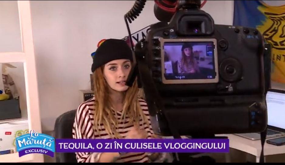 VIDEO Tequila, o zi în culisele vloggingului