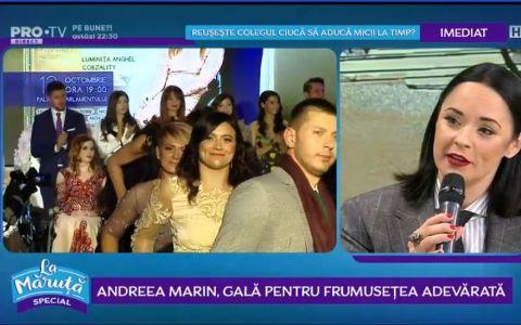 VIDEO Andreea Marin, gală pentru frumusețe adevărată
