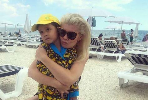 Diana Matei, spectacol pentru fiul ei