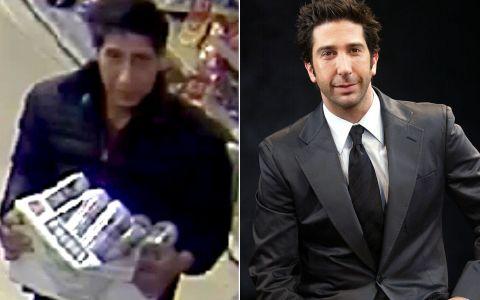 Ross din sitcomul Friends, prins la furat prin magazine?